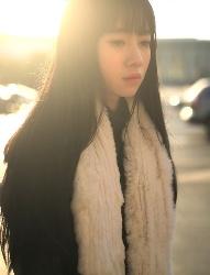 暖暖的阳光,暖暖的少女