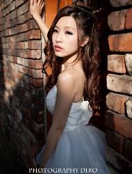 倪安纯白写真照