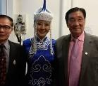 格格被聘为中泰艺术家联合会海外文艺部主任