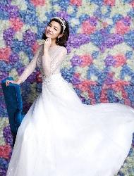 杨子姗唯美婚纱照