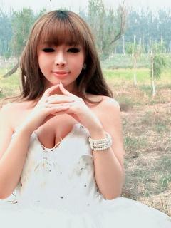 裴紫绮唯美婚纱